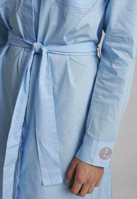 Nümph - NUDAIJA DRESS - Shirt dress - airy blue - 3