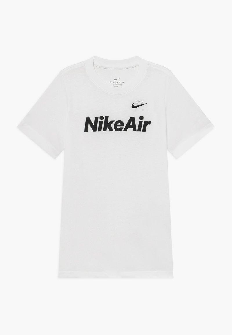 Nike Sportswear - Triko spotiskem - white/black
