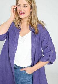 Paprika - Button-down blouse - purple - 3