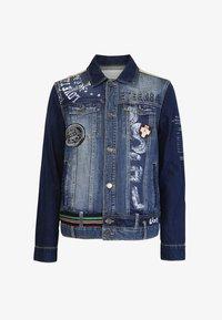 Desigual - CHAQ  ADAM - Kurtka jeansowa - blue - 4