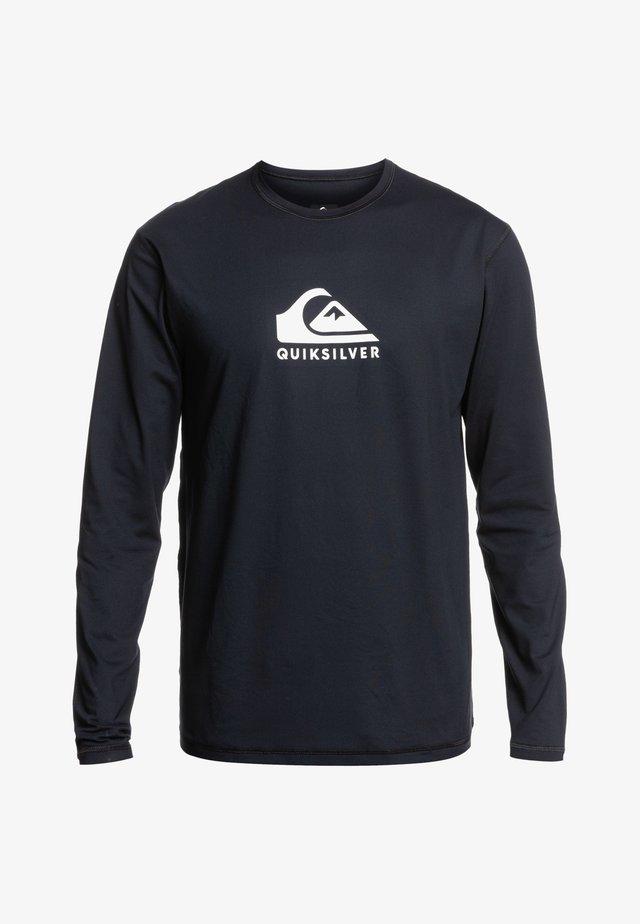 SOLID STREAK - Surfshirt - black