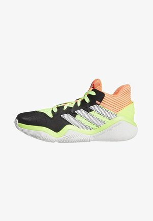 HARDEN STEPBACK SHOES - Basketball shoes - black/orange/grey