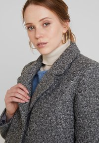 Vila - Manteau classique - medium grey melange - 3