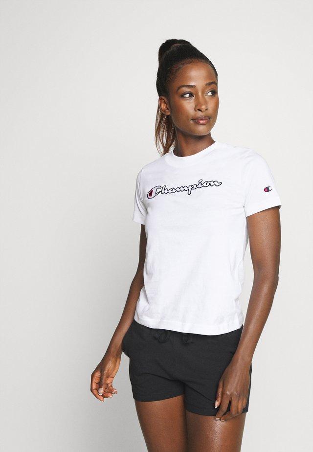 CREWNECK ROCHESTER - Camiseta estampada - white