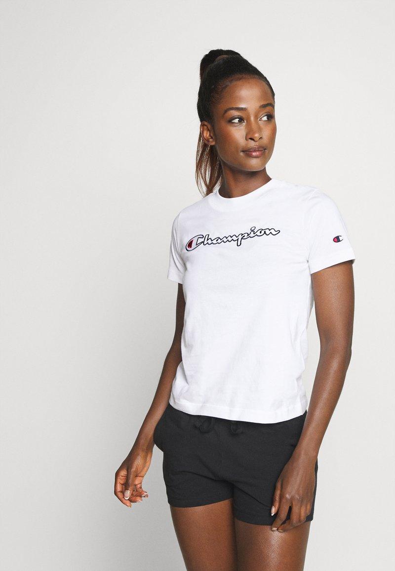 Champion - CREWNECK ROCHESTER - Camiseta estampada - white