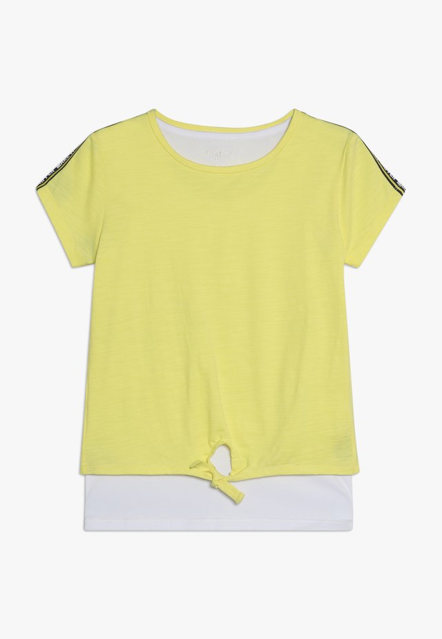 2IN1 TEENAGER - Camiseta estampada - bright sun