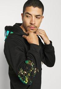 Carlo Colucci - UNISEX - Zip-up sweatshirt - black - 3