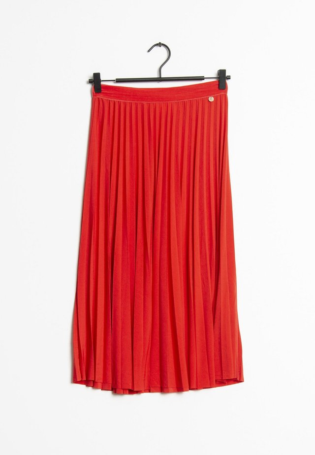 Jupe plissée - red