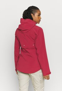 Columbia - BEACON TRAILSHELL - Ulkoilutakki - marsala red - 2