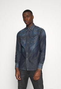 Replay - Shirt - dark blue denim - 0