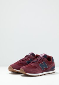 New Balance - 574 - Baskets basses - red/navy - 2