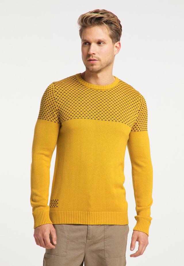 Sweater - curry marine