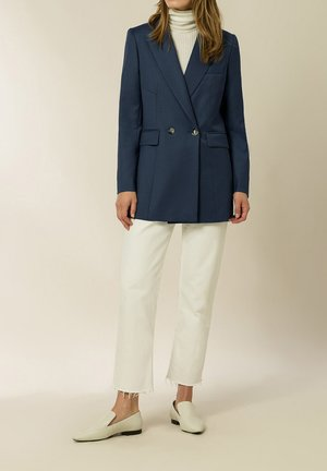 JOYCE ROSE  - Short coat - rain blue
