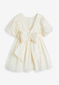 Next - IVORY TAFFETA BRIDESMAID  - Vestido de cóctel - white - 1