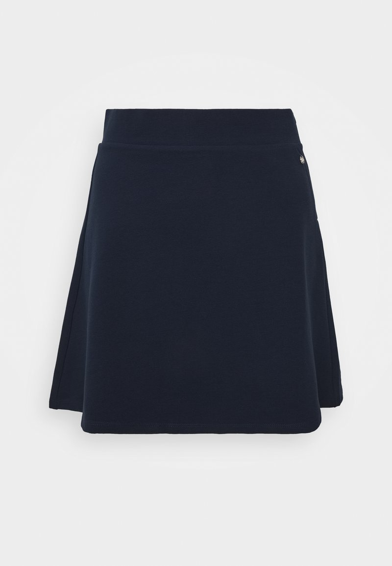 TOM TAILOR DENIM - STRUCTURED SKIRT - A-line skirt - real navy blue