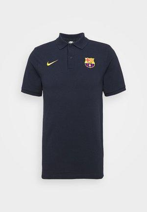 FC BARCELONA  - Club wear - dark obsidian/amarillo