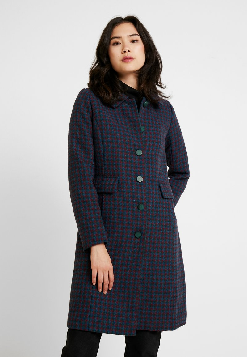 King Louie - NATHALIE COAT DARBY - Kåpe / frakk - autumn blue