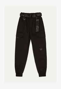 Bershka - Pantaloni - black - 4