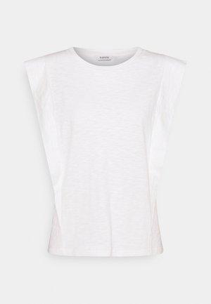 TELLA SLEEVELESS - Jednoduché triko - off-white