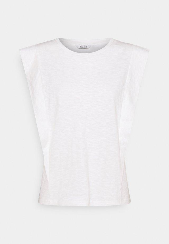TELLA SLEEVELESS - T-shirt - bas - off-white
