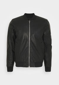 Abercrombie & Fitch - Faux leather jacket - black - 0