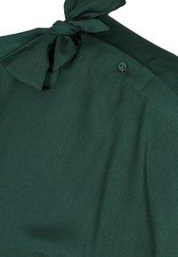 Zizzi - MIT BINDEDETAIL - Blouse - dark green - 3