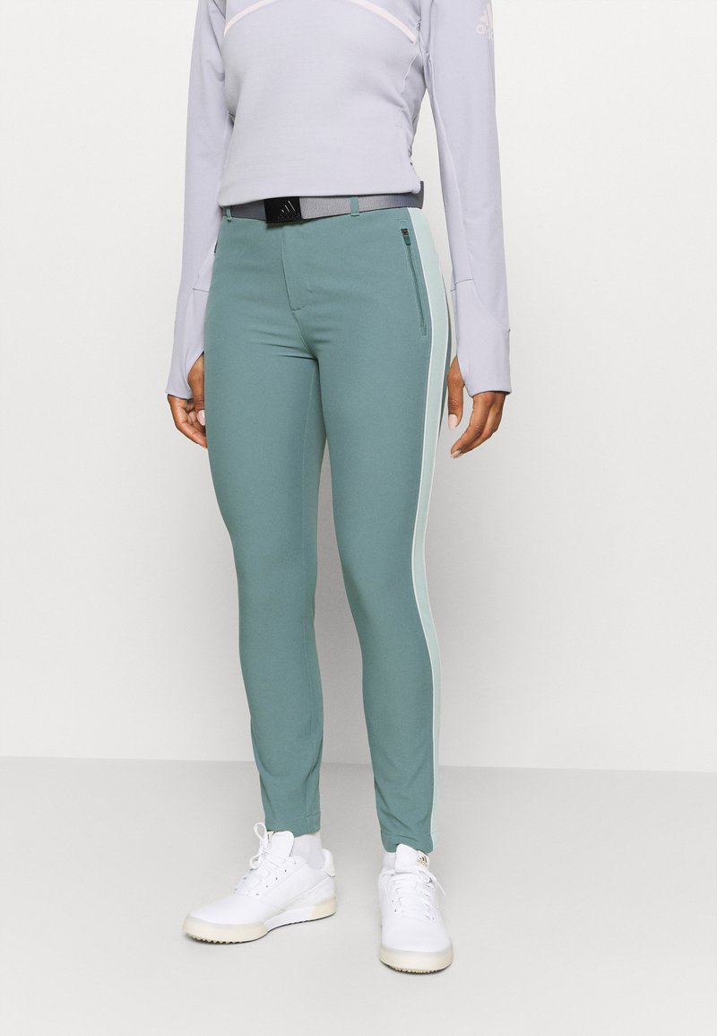 Under Armour - LINKS - Trousers - lichen blue