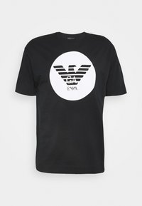 Emporio Armani - T-shirts print - black - 5