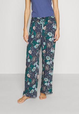 FLOWER LOUNGE - Pyžamový spodní díl - blue