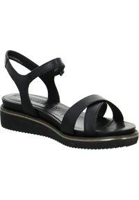 Tamaris - Wedge sandals - schwarz - 5