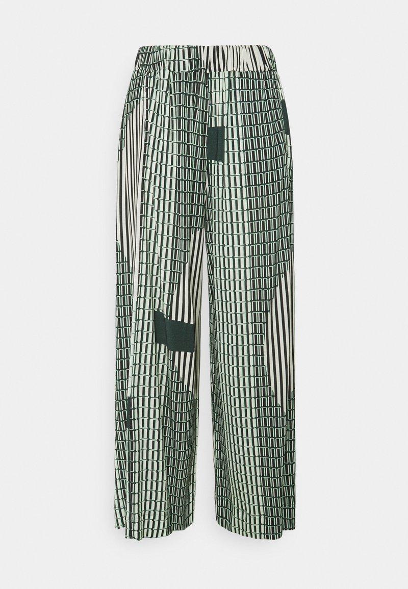 Henrik Vibskov - STONE GRABBER PANTS - Kalhoty - green