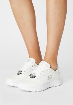 WORK SURE TRACK - Sneakers laag - white