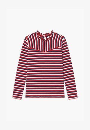 STRIPE  - Camiseta de manga larga - red