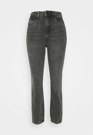 NMISABEL MOM - Jeans baggy - grey denim