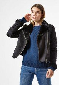 Dorothy Perkins - Faux leather jacket - black - 0