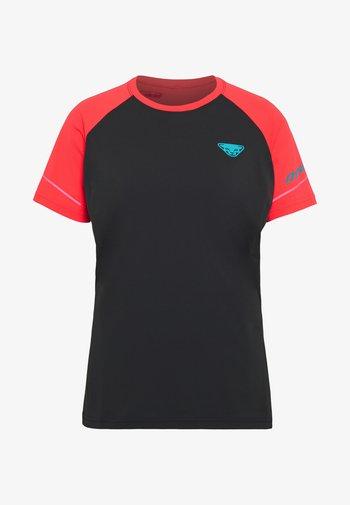 ALPINE PRO TEE - T-shirt con stampa - fluo pink