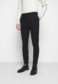 Les Deux - COMO SUIT PANTS - Suit trousers - dark navy - 0