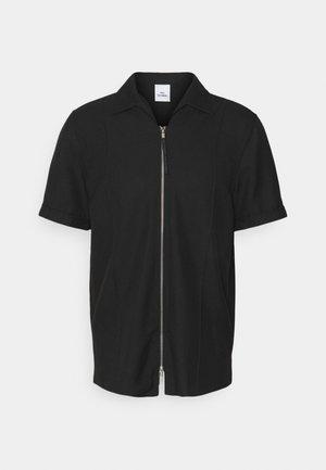 KIRBY ZIP - Košile - black