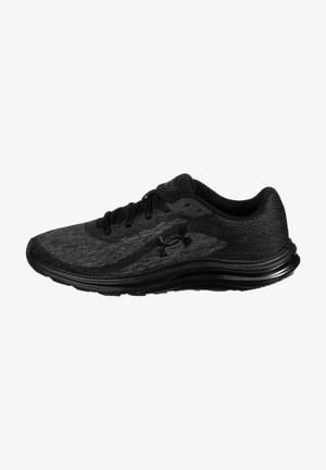 LIQUIFY REBEL  - Neutral running shoes - black / black