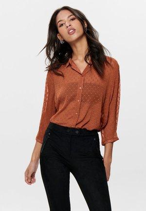 Button-down blouse - arabian spice