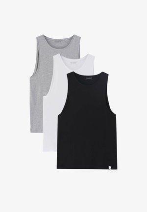 3ER-PACK  - Top - black\white