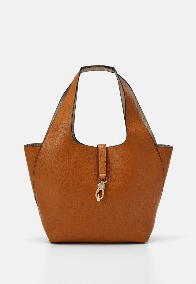 Shopping bag - mustard