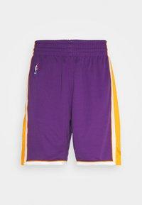 Mitchell & Ness - LA LAKERS NBA AUTHENTIC SHORTS - Short de sport - purple - 5