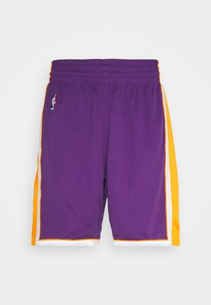LA LAKERS NBA AUTHENTIC SHORTS - Short de sport - purple