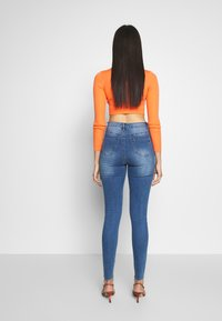 Missguided Tall - SINNER CLEAN DISTRESSED  - Jeans Skinny Fit - blue - 2
