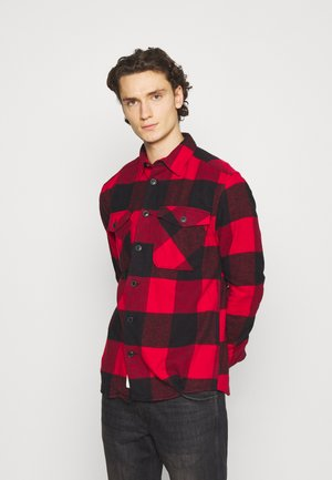 ONSMILO LIFE HEAVY CHECK  - Shirt - fiery red