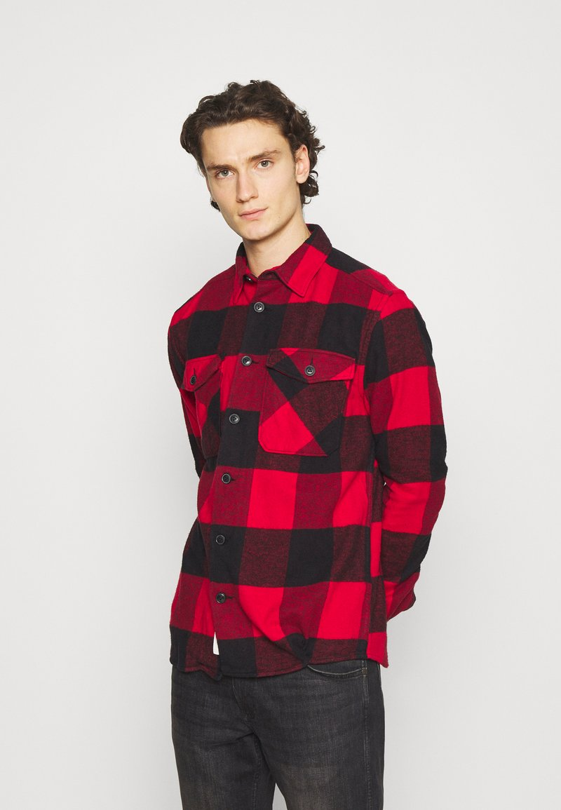 Only & Sons - ONSMILO LIFE HEAVY CHECK  - Skjorta - fiery red