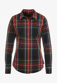 J.CREW - PERFECT IN STEWART PLAID SLIM FIT - Camisa - red/green/multi - 3