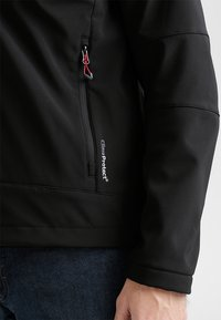 CMP - MAN JACKET ZIP HOOD - Soft shell jacket - nero - 4