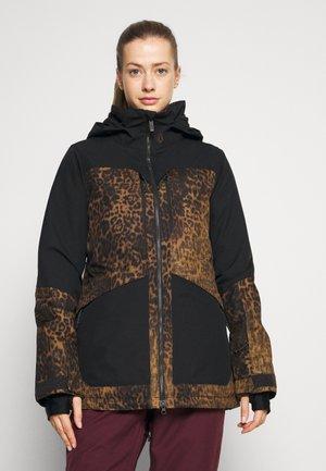 SHELTER 3D JACKET - Snowboard jacket - brown